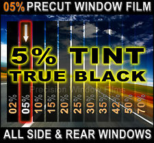 PreCut All Sides &Rears Window Film Black 5% Tint Shade for Chevrolet Cars Glass