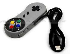 PC USB Controlador Gamepad Para Juegos Clásicos Retro Snes Estilo Pad