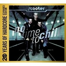 SCOOTER-no time to Chill: 20 years of Hardcore 2 CD DISCOTECA DANCE TECHNO POP NUOVO
