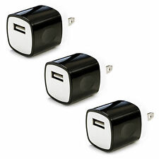 3x 1A USB Power Adapter AC Home Wall Charger US Plug FOR iPhone 5 5S 6 Samsung