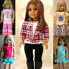 Lot of 5 SET DOLL CLOTHES FITS 18in. AMERICAN GIRL DOLL-CLOTHES 5876-US Location