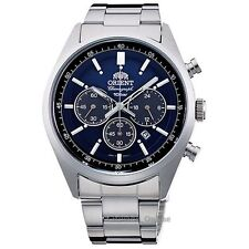 ORIENT Men's watch NEO 70's SOLAR PANDA Royal Blue WV0021TX