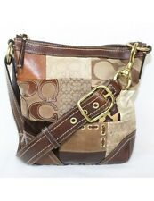 COACH Patchwork Shoulder Duffle Bag F12840