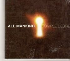(GC196) All Mankind, Simple Desire - 2011 Sealed CD