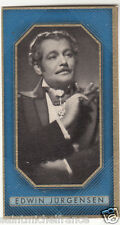 EDWIN JÜRGENSEN ACTEUR ACTOR GERMANY DEUTSCHLAND ALLEMAGNE IMAGE CARD 30s