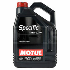 Motul VW Specific 504 00, 507 00 5W-30 Synthetic Engine Oil 5W30 5 Litres 5L