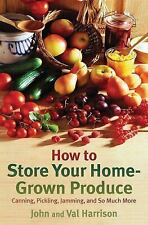 John Harrison - How To Store Your Home Grown P (2012) - Used - Trade Paper