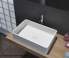 Lavabo / vasque en fonte minérale à poser PB2012- 60 x 40 x 15cm