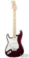 Fender Standard Stratocaster Guitar Left Handed Midnight Wine - 0144622575