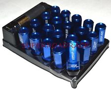 PROJECT KICS LEGGDURA CLOSED ENDED LUG NUT LOCK SET OF 20 53MM 12x1.5 BLUE