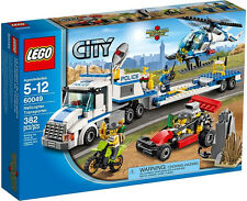 JANUARY 2014 LEGO CITY POLICE 60049 HELICOPTER TRANSPORTER, NIB, GREAT GIFT!