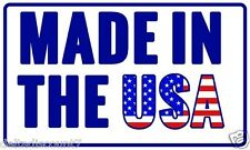 mega 300 LABELS 3x5 MADE IN THE USA MADE IN AMERICA USA FLAG SHIPPING STICKER