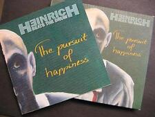 """HEINRICH BEATS THE DRUM """"THE PURSUIT OF HAPPINESS"""" - CD - DIGI PACK"""