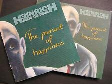 "HEINRICH BEATS THE DRUM ""THE PURSUIT OF HAPPINESS"" - CD - DIGI PACK"