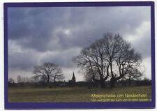 Alte Postkarte - Melancholie am Niederrhein