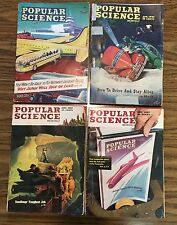 Lot 1945 1946 1947 Popular Science Magazine March April September Advertising
