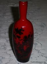Royal Doulton Flambe Woodcut Vase #1603 Country River With Windmill *ULTRA RARE*