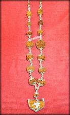 Rudraksha Siddha Mala - Java Beads {1 till 14 Mukhi Rudraksh} - Lab Certified