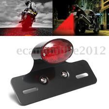 Motorcycle Motorbike Bicycle Rear Tail Brake Stop LED Light  Plate Mount Bracket
