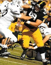 INDIANAPOLIS COLTS AUSTIN BLYTHE HAND SIGNED IOWA HAWKEYES 8X10 PHOTO W/COA