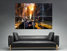 BACH TO THE FUTURE RETOUR VERS LE FUTUR  Wall Poster Grand format A0  Print