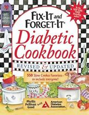 Fix-It and Forget-It Diabetic Cookbook Revised and Updated: 550 Slow Cooker Fav