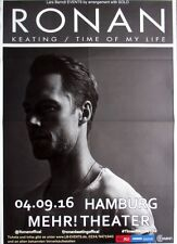 KEATING, RONAN - 2016 - Konzertplakat - Time of my Life - Tourposter - Hamburg