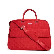 Vera Bradley Grand Traveler Bag in Tango Red