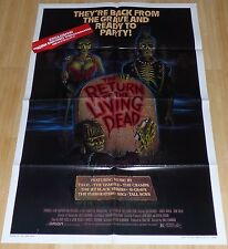RETURN OF THE LIVING DEAD 1984 ORIGINAL VHS VIDEO MOVIE POSTER ZOMBIE HORROR