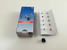 10x OSRAM 12V 1,2W BX8,4D LAMPADINA 2351MFX6 lampadina