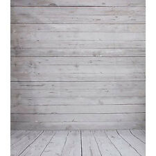 5x7FT Wood Wall Floor Studio Prop Photography Vinyl Background Photo Backdrop