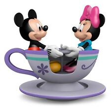 Hallmark 2016 Teacup for Two Mickey and Minnie Mouse Disney Ornament
