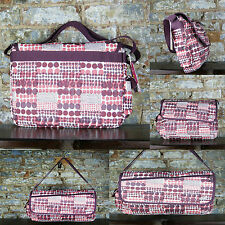 Roxy Pink Polka new Backpack/Rucksack/Side bag great for School,College,Work