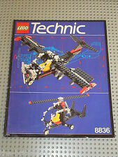 Notice Building instruction booklet LEGO TECHNIC 8836 Sky Ranger