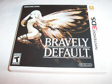 Bravely Default (Nintendo 3DS) XL 2DS Game w/Case & Manual