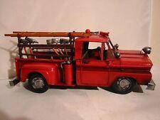 Sapeurs-pompiers Chevrolet USA ,32 cm Modèle en métal,PRODUIT NEUF