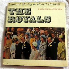 1966 The Royals Queen Elizabeth II by Leonard Mosley & Robert Haswell Book