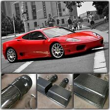 Ferrari 360 F360 Modena Coupe Spider 99-04 Carbon Fiber Air Intake Box Boxes