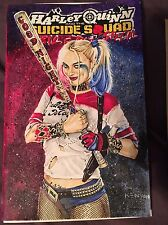 Harley Quinn Suicide Squad April Fools Special Blank Comic Water Color NM Cond.