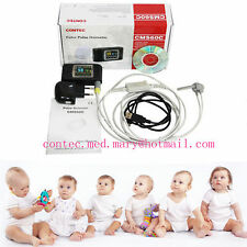 CE,Neonatal Infant pediatric Kids Born Pulse Oximeter Spo2 Monitor USB,CMS60C