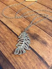 Womens Necklace Boho Long Style Jewelry Feather Pendant Cute Gift Idea Fashion
