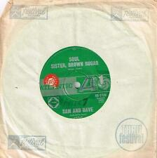 "SAM AND DAVE - SOUL SISTER, BROWN SUGAR - RARE 7"" 45 SAMPLE VINYL RECORD - 1967"