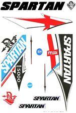 Spartan MP Matt Prior 2017 World Cup English Willow cricket bat sticker set