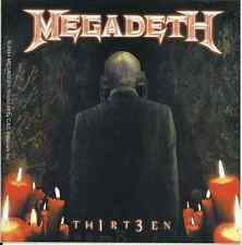 MEGADETH 13 thirteen 2014 VINYL STICKER official licensed merchandise - IMPORT