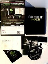CALL OF DUTY MODERN WARFARE 3 MW3 •HARDENED COLLECTORS EDITION• PlayStation PS3