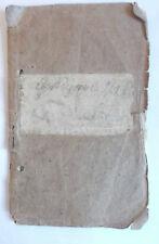 polish  1932  to 1940 Książka Rodzinna     family  document / pass book