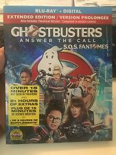 Ghostbusters 2016 Ext Edition (Blu-Ray+ dvd Digital Copy with Slipcover NEW