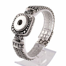 SNAP Magnetic BRACELET Interchangeable JEWELRY Button 18mm Fits Ginger Snaps