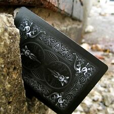 Bicycle Shadow Masters BLACK Deck of Playing Cards by Ellusionist, New