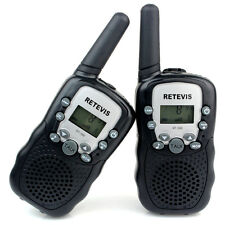 2pcs Retevis RT-388 Kids Walkie Talkie 2-Way Radio UHF 8CH Children Play Gifts